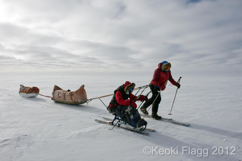 Tahoe Sierra Transportation owner skis to the South Pole with Grant Korgan.